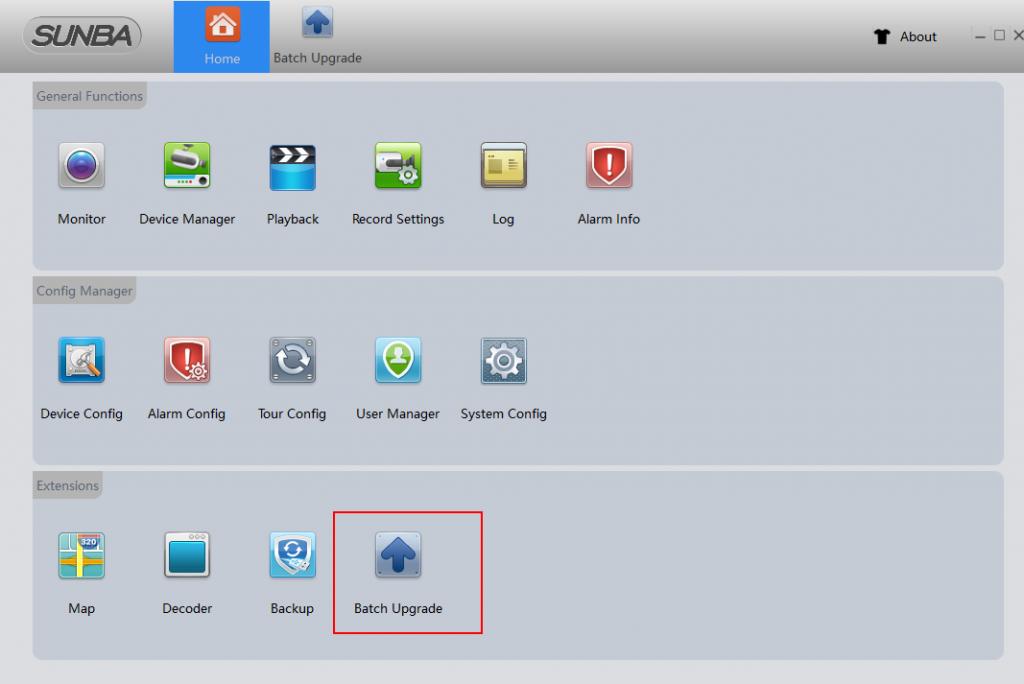 How to upgrade the firmware for my Sunba IP Camera? - SUNBA | Master