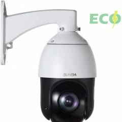 SUNBA 405-D20X ECO Edition - IP PoE+ H.265/H.264 1080p Outdoor PTZ Camera, 20X Optical Zoom, Auto-Focus, 328ft Night Vision and ONVIF Compliant